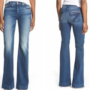 7 For All Mankind Tailorless Dojo Bootcut Jeans